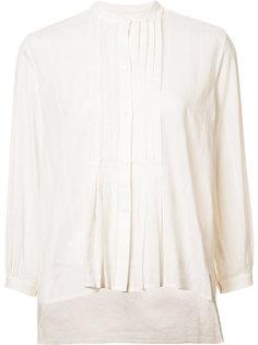 рубашка с плиссировкой Nili Lotan