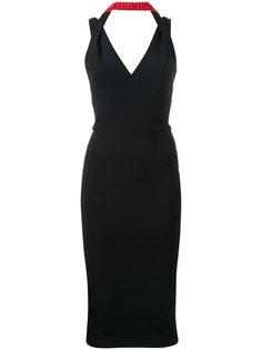платье с драпировкой Victoria Beckham