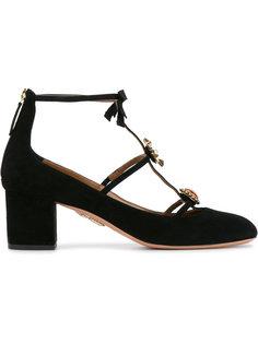декорированные туфли Pandora Aquazzura