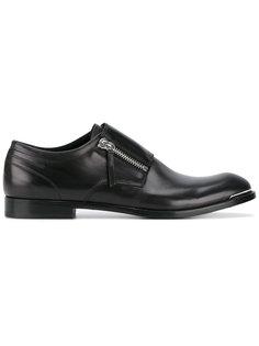 ботинки дерби на молнии Alexander McQueen