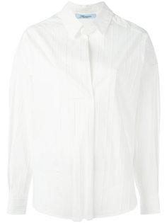 рубашка в рубчик Blumarine