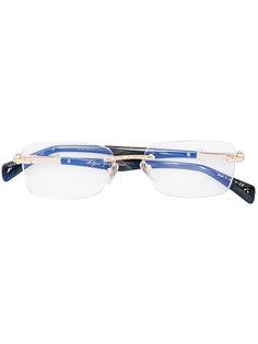 оптические очки в квадратной оправе  Bulgari