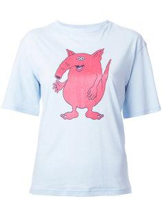 футболка с принтом G.V.G.V.