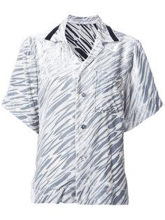 бархатная рубашка с короткими рукавами G.V.G.V.