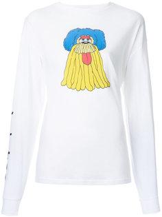 футболка с длинными рукавами и принтом G.V.G.V.