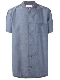 рубашка с воротником в рубчик Facetasm
