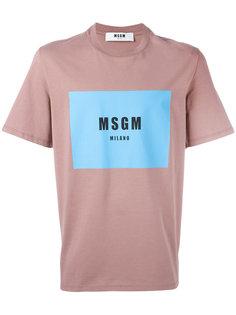 футболка Rocco  MSGM