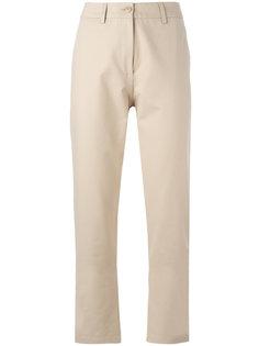 брюки кроя слим Boutique Moschino