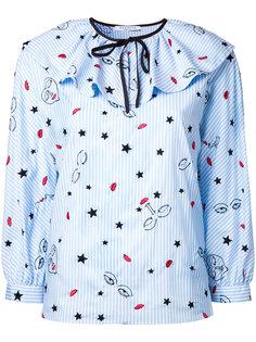 блузка в полоску Vivetta