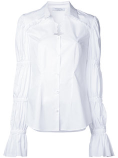 рубашка со сборками на рукавах Vivetta