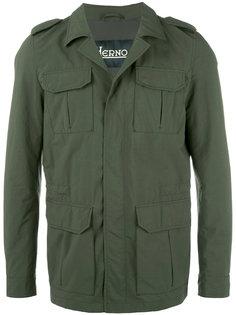 куртка в стиле милитари Herno