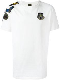 футболка с вышитым логотипом Mr & Mrs Italy