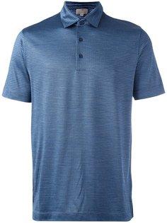 футболка-поло с узором Canali