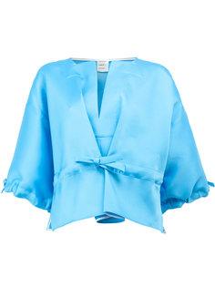 drawstring cropped blouse Maison Rabih Kayrouz