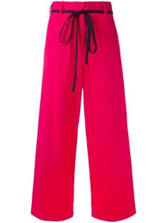 укороченные широкие брюки Hache