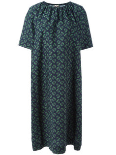 платье шифт со сборками у горловины Hache