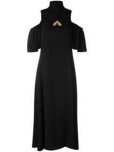 платье с вырезными деталями Ellery