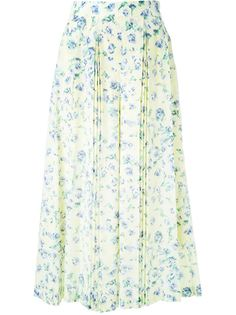 широкие брюки с цветочным принтом   Loveless