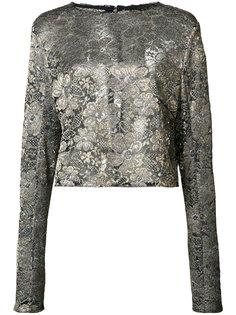 блузка с цветочным принтом Sally Lapointe
