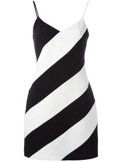 платье в полоску David Koma