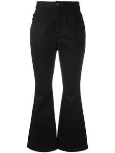 укороченные расклешенные брюки Ellery