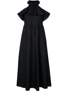 приталенное платье с оборками Vivetta