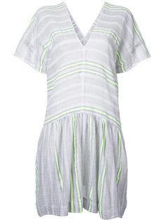 свободное платье в полоску Lemlem