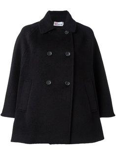 двубортное пальто Red Valentino