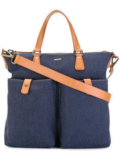 парусиновая сумка на плечо Zanellato