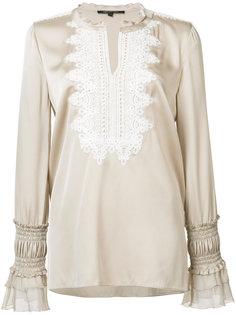 блузка с присборенными манжетами Kobi Halperin