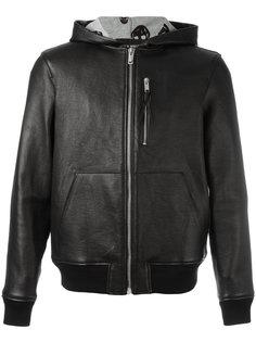 куртка-бомбер с капюшоном Alexander McQueen