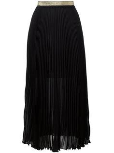 плиссированная юбка Roberto Cavalli