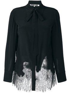 рубашка с кружевной вставкой McQ Alexander McQueen