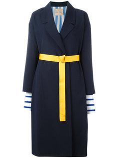 объемное пальто Erika Cavallini