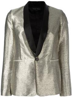 пиджак с блестящей отделкой Christian Pellizzari