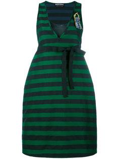 платье в полоску  Rochas
