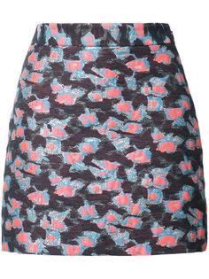 юбка с цветочным принтом Milly