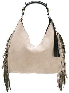 сумка на плечо с бахромой Santoni