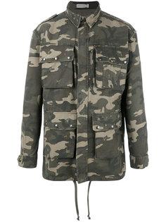 куртка с камуфляжным принтом  Faith Connexion
