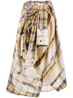 юбка в форме рубашки  Faith Connexion