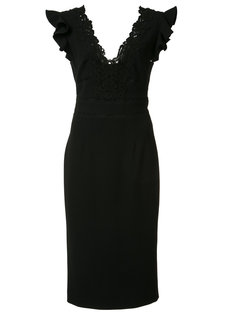 платье с V-образным вырезом Rebecca Taylor