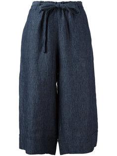 укороченные брюки палаццо Masscob