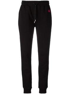 спортивные брюки с вышивкой McQ Alexander McQueen