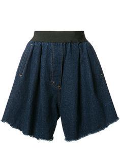 джинсовые шорты Natasha Zinko