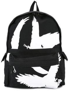 рюкзак с принтом птиц Ann Demeulemeester