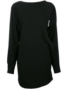 блузка с вырезными деталями Mm6 Maison Margiela