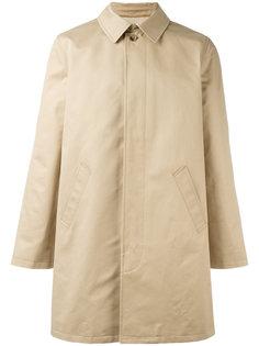 классическое однобортное пальто A.P.C.