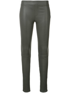 leather leggings Helmut Lang