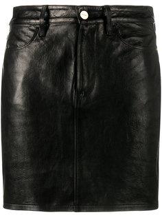 короткая юбка  Frame Denim