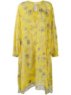 платье-кафтан с вышивкой Ashish
